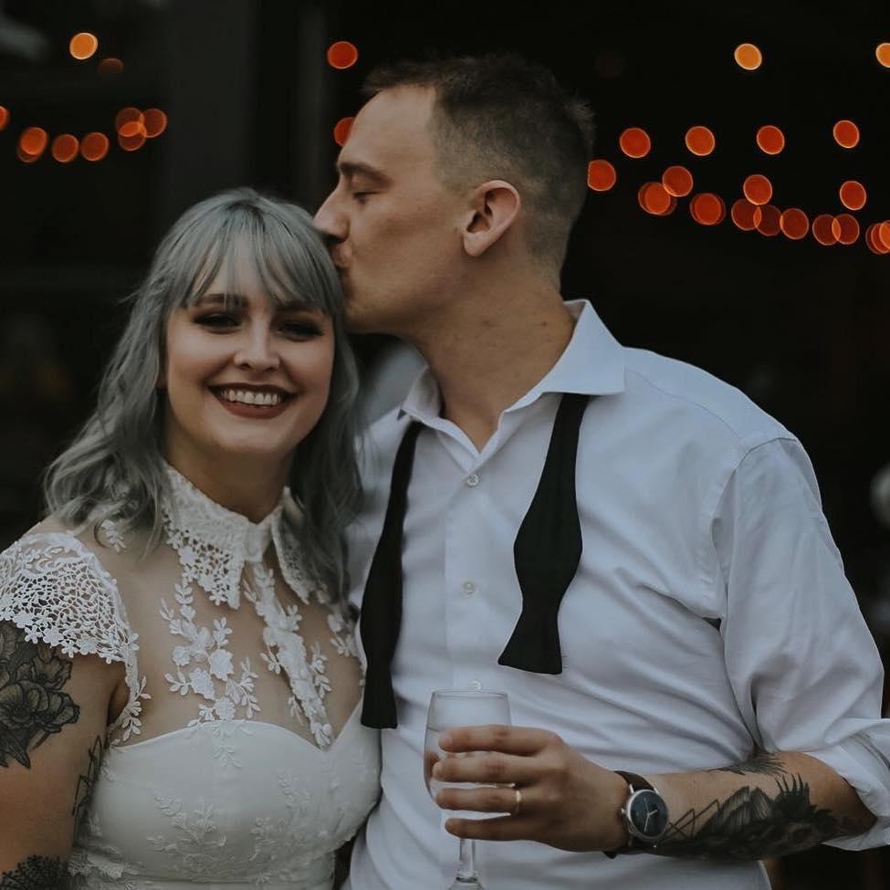 Photo of my wife Lauren and me. Taken by Aubrey McCready.https://www.photographybyaubrey.com